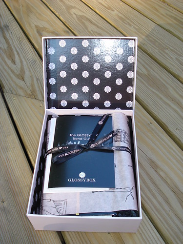 Birchbox Contents - April 2012