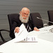 14/05/2012 - El mago James Randi, una de las grandes figuras del escepticismo y la divulgación científica visita Labpsico y ofrece una conferencia en Deusto