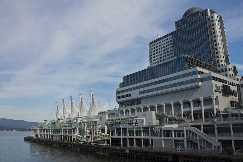 Canada Place and the Pan Pacific