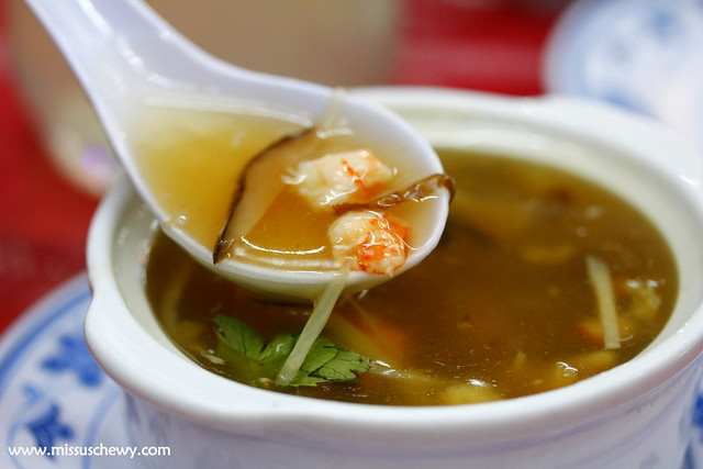 Fish Maw Soup @ $4/bowl