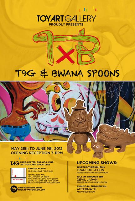 T9G x Bwana Spoons at TAG
