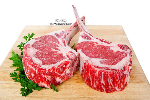 40-ounce tomahawk steaks