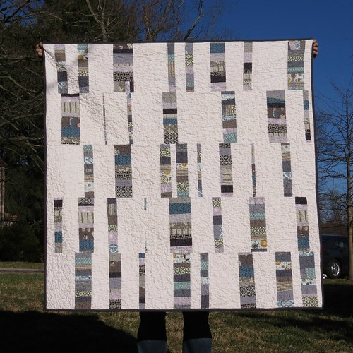 Opa's Wonky Blocks Quilt
