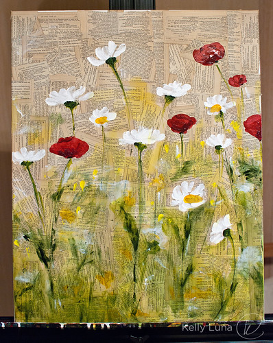 WIP-messy daisies poppies1