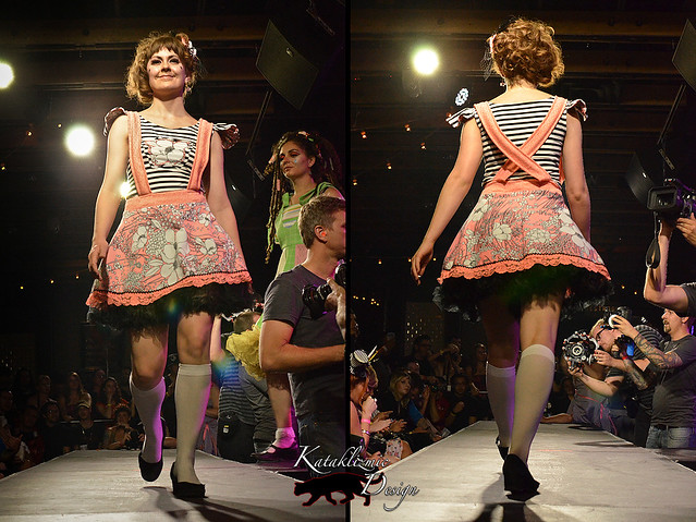 Sticker Club Girl - Madame Trapeze Fashion Show 05-12-12