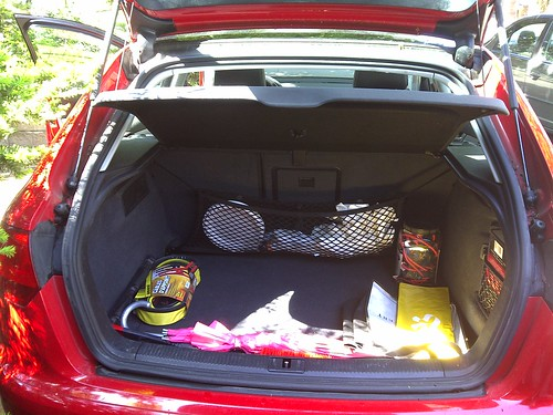 The cleanest my trunk has ever been by bobbie-sue