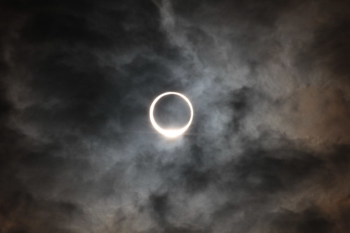 eclipse of the sun like the ring!!!