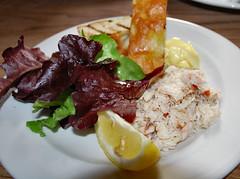 Crab Salad at Rick Steins Pub