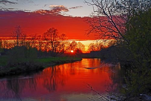 sunset river spring estonia pentax hdr eesti jõgi kevad k7 soomaa loojang viljandimaa soomaarahvuspark pentaxk7 hallistejõgi