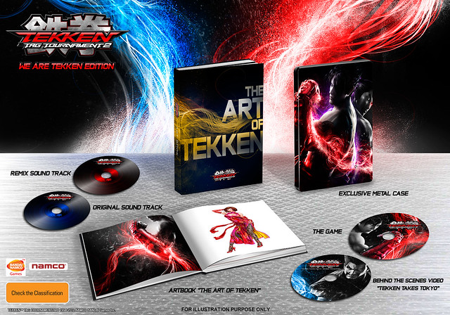 Tekken TAG Tournament 2 'We Are Tekken' Collector's Edition Coming to Europe & Australia