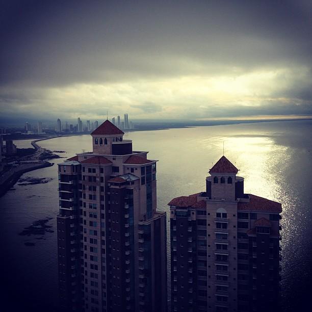 Vem aí a bela da chuvada. #panamá