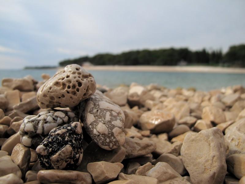 galets de la mer Adriatique