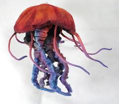 Felted Chicken - Jellyfish