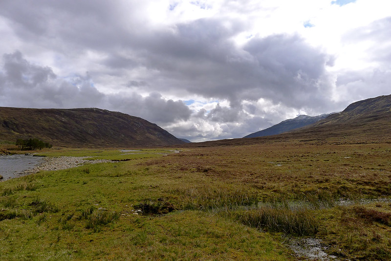 Clouds blowing over Glen Orrin