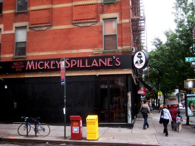Mickey Spillane S Bar Hell S Kitchen Nyc