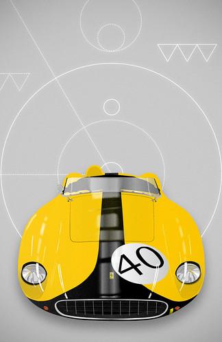 Ferrari Testa Rossa #40 by jon_mutch