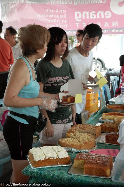 Straits Quay Market - Cakes