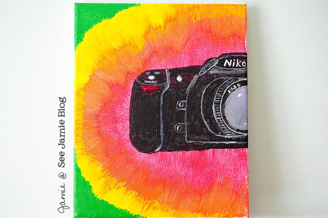 Ken's camera painting