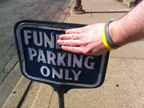 Fun Parking Only
