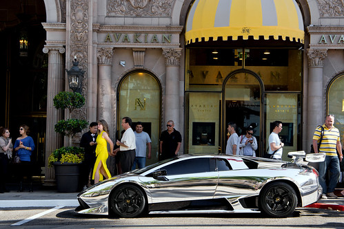100k Views = Chrome Lamborghini Murcielago