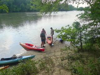 Broad River Paddling May 26, 2012 6-19 PM