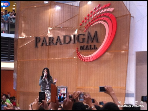 Kelly Chen @ Paradigm Mall in Kelana Jaya, PJ