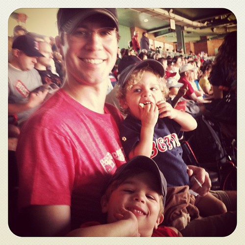 Miller's 1st Red Sox game