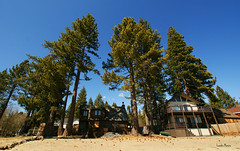 Praia de Lake Tahoe
