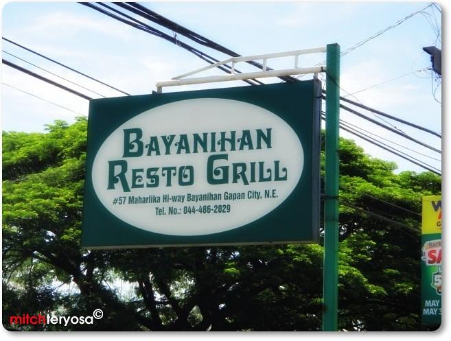 Bayanihan Resto Grill