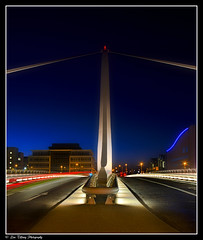 Dublin After Dark (18)  (Samuel Beckett Bridge)