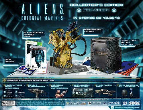 Aliens: Colonial Marines Collectors Edition
