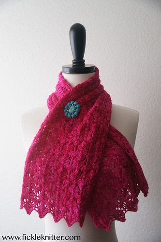 baah scalloped scarf