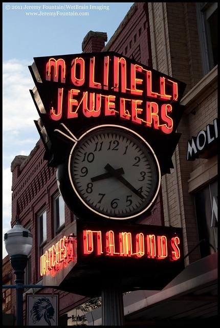 8:22 PM @ Molinelli Jewelers