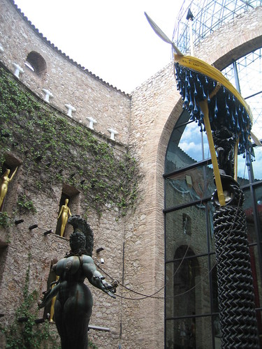Entrance to Dali Museum
