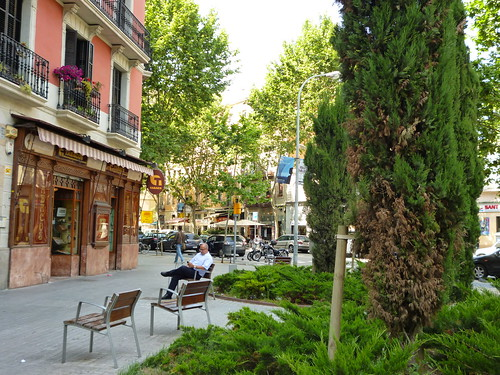 Green area in Sant Antoni