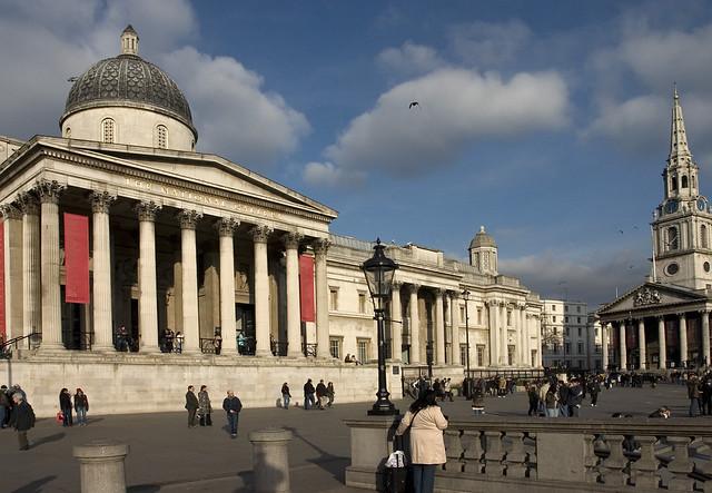 Лондон, Лондонская Национальная галерея, photo by Massaraksh