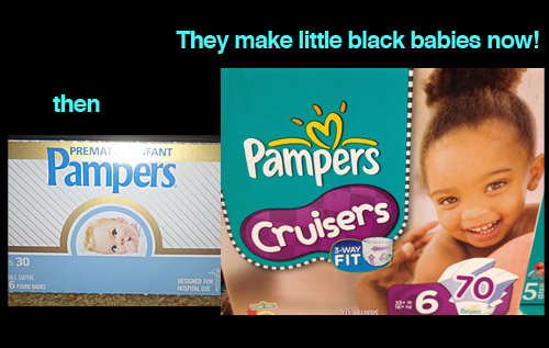 black-baby-pampers