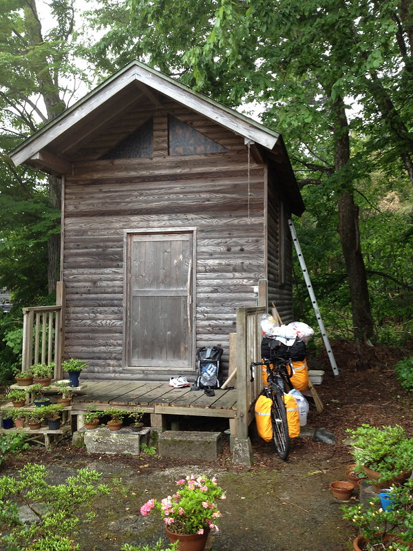 加藤ゲストハウスの小屋