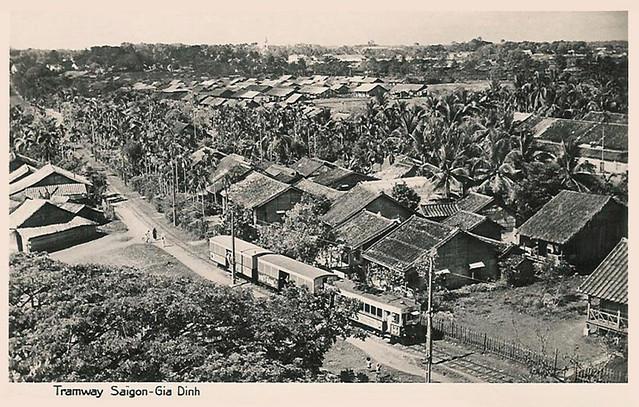 1950-59 Tramway Saigon - Gia Dinh