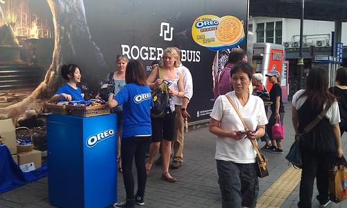 OREO プロモーション 香港