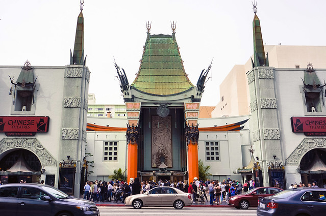 los angeles :: chinese theatres
