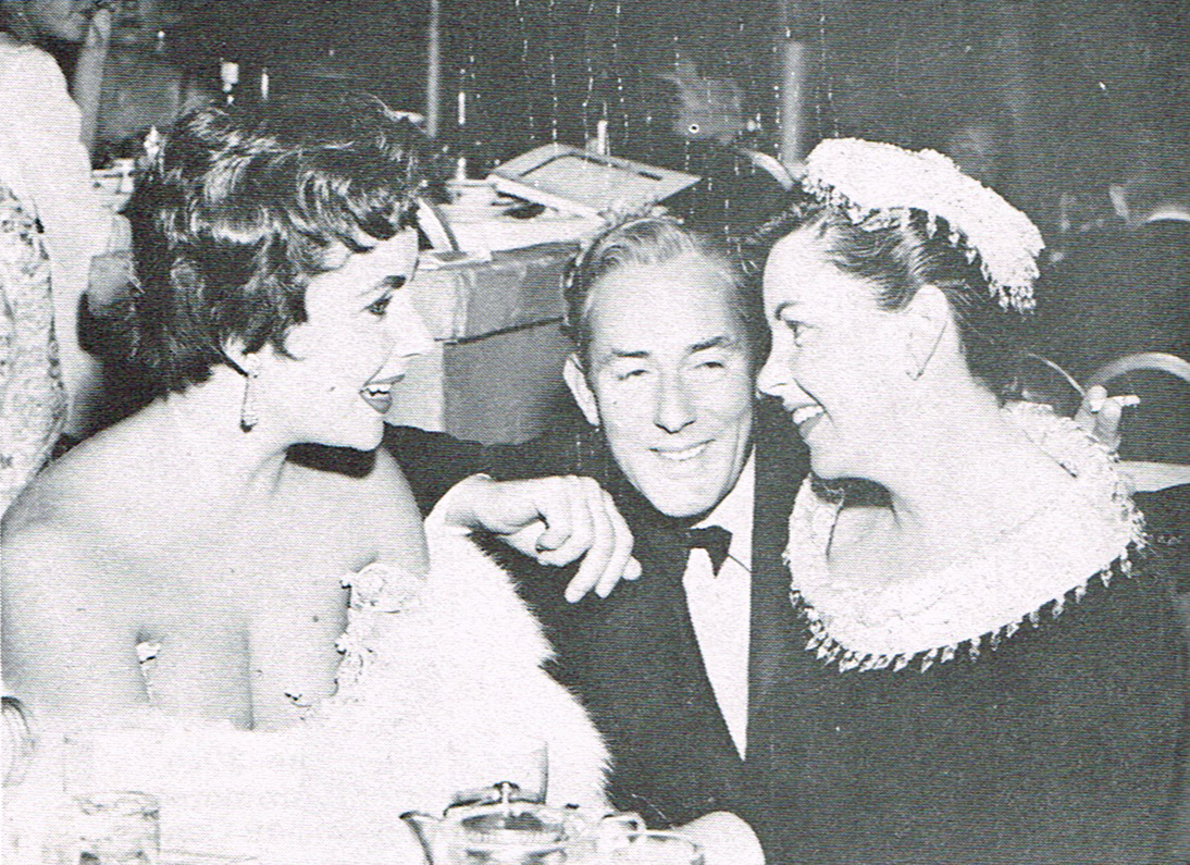 Elizabeth Taylor, Michael Wilding and Judy Garland