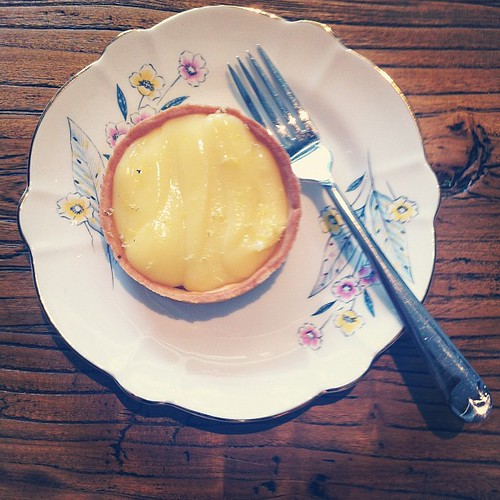 Lemon Cream Tart from Carpenter and Cook