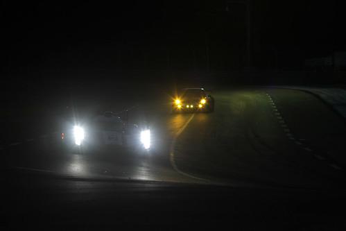 24 horas de Le Mans 2012: resumen de la noche, Audi 1 y 2 se alternan la carrera sin Toyota