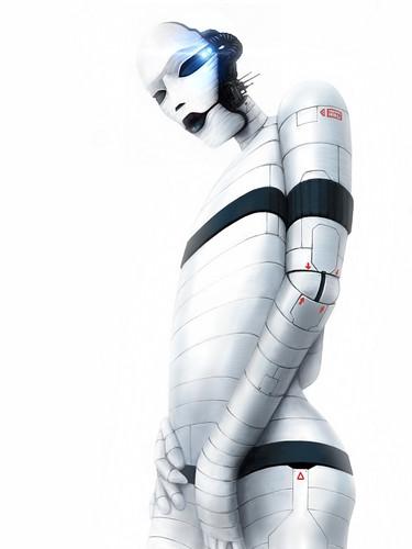 [フリー画像素材] グラフィック, イラスト, ロボット ID:201206221200