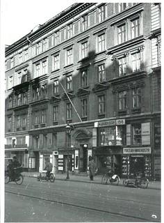 Ejendommen Nørrebrogade 156 i København, hvor Frihedsrådet holdt sit første møde d. 16. september 1943