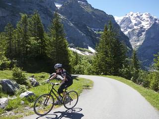 Doreen Conquers Grosse Scheidegg
