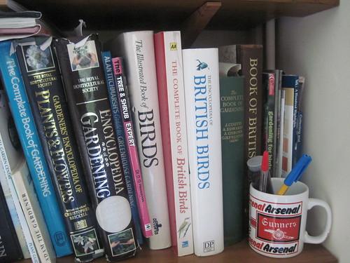 Arsenal Mug, Birdwatching Books