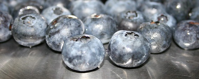 Blueberries In AllClad