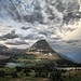 Clouds Over Glacier National Park, Montana by ` Toshio '